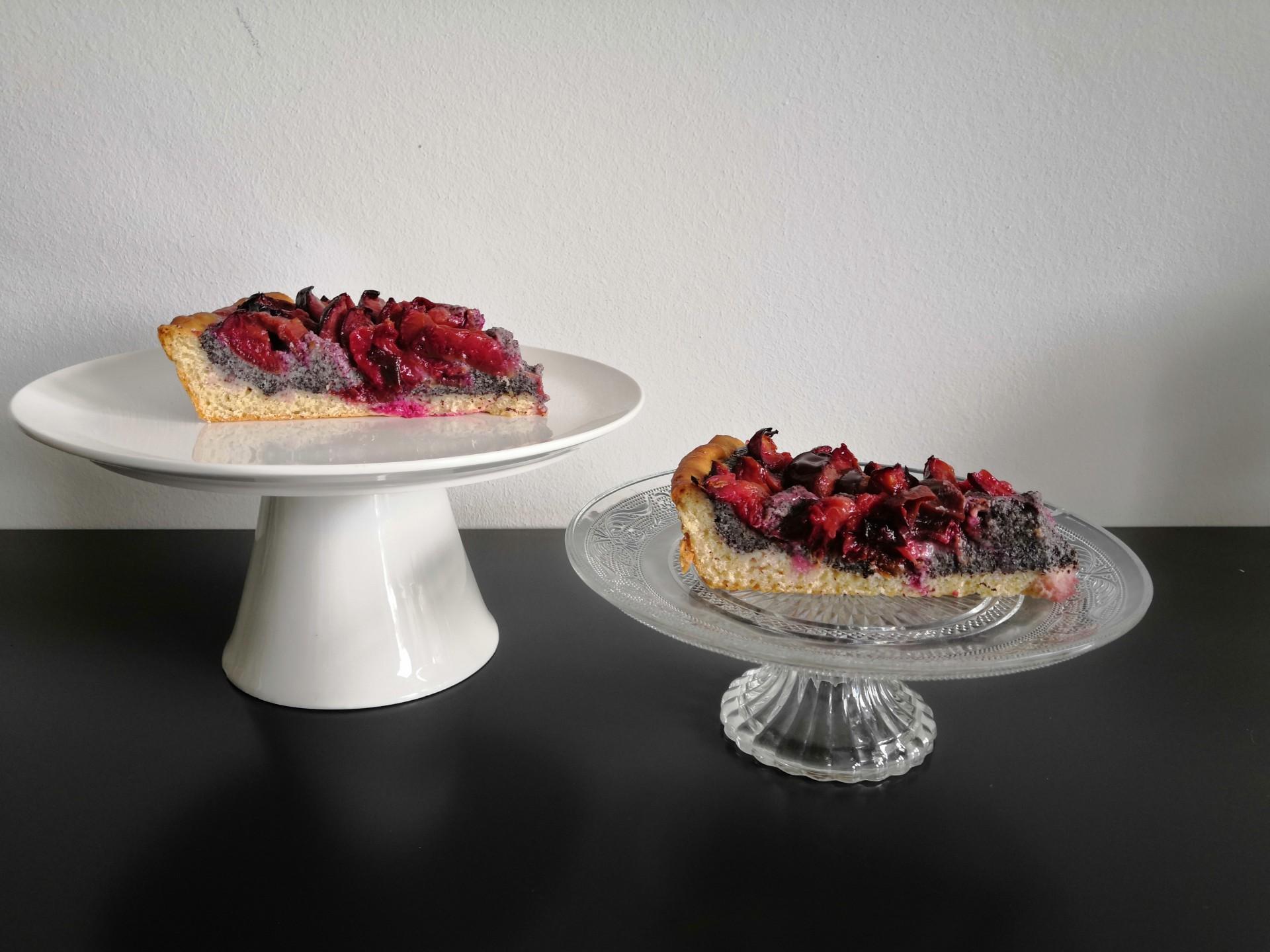 Zwetschgenkuchen mit Mohn